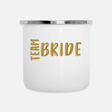 Goud Bride - JGA - Gold Series - Emaille mok