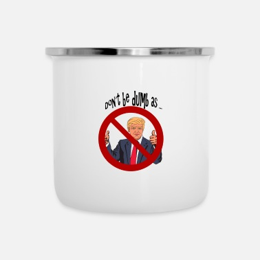 Satire Donald Trump satire - Mug émaillé