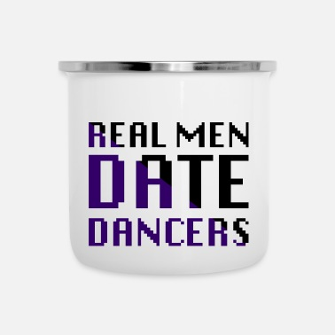Data Real Men Data Ballerini - Tazza smaltata