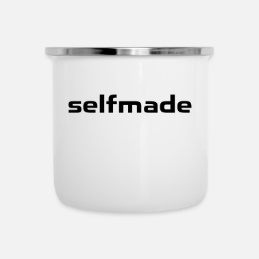 Filosofie Self Made - Emaille mok