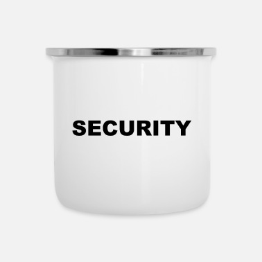 Secure Security - Security - Security - Protection - Enamel Mug