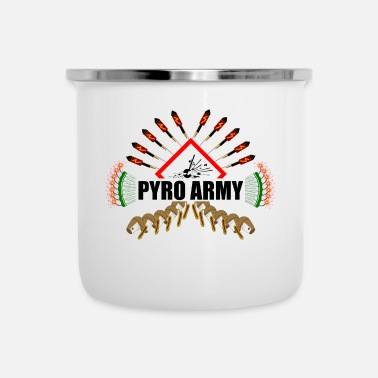 Deluxe Pyro Army deluxe - Tasse émaillée