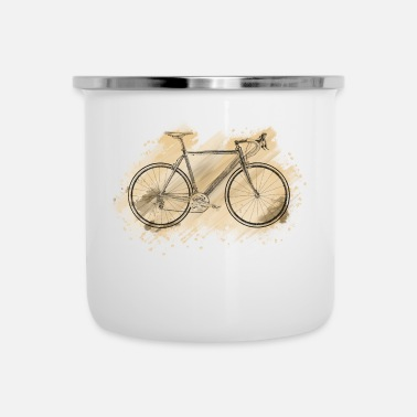 Racing Bike racing bike - Enamel Mug