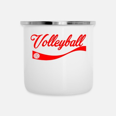 Volley Volleyball - Taza esmaltada