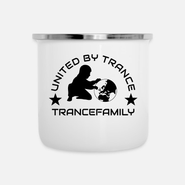 Trance UNITED BY TRANCE - Emaille mok