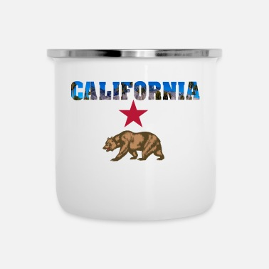 Californie Californie - Tasse émaillée
