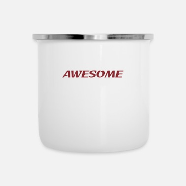 Awesome awesome - Tazza smaltata