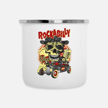 Rockabilly rockabilly - Tazza smaltata