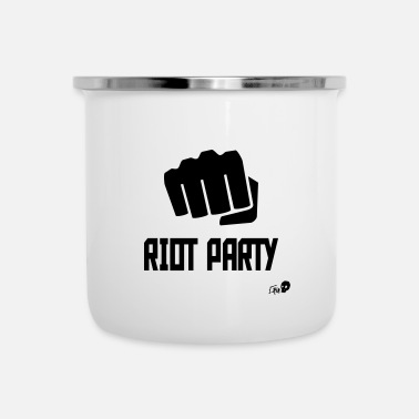 Party RIOT PARTY - Emaille mok