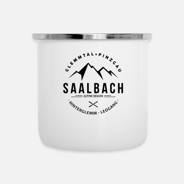 Regio Saalbach Mountain Classic - Emaille mok