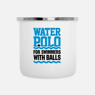Rude Water polo for swimmers with balls - water polo - Tasse émaillée