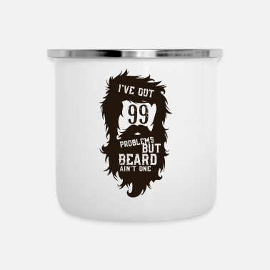 Beard But a beard beard - Enamel Mug