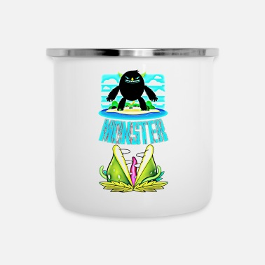 Monster monster - Enamel Mug