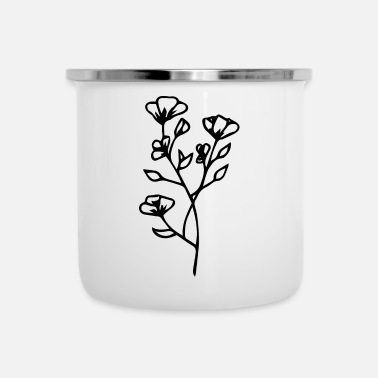 Floridezza Fiore con fiori Idea regalo - Tazza smaltata