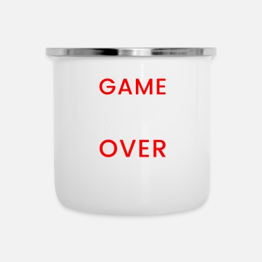Game Over Game Over Gamer Console - Taza esmaltada