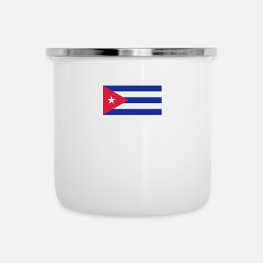 Karibien National Flag Of Cuba - Emaljmugg