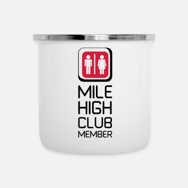 Toilette Regalo per i soci Mile High Club - Tazza smaltata