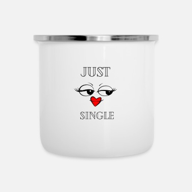 Just just Single - Emaljmugg