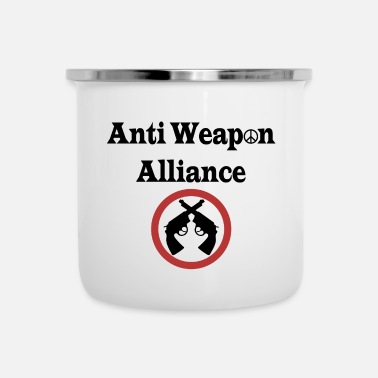 Anti Anti Weapon Alliance - Anti Weapons Alliance - Emaille mok