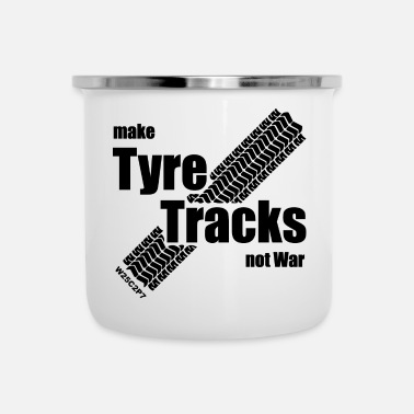 Tyr Tyre Tracks - Emaille-Tasse