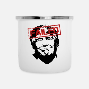 Demokraatti Anti Trump USA: n presidentti Clown Stamp Gift 45 - Emalimuki