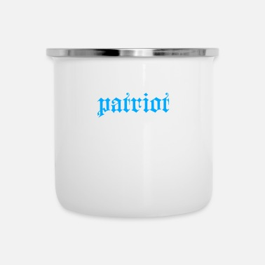 Patriot Patriot - Emaille-Tasse