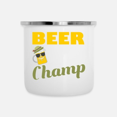Champ Beer Pong Champ T-shirt regalo - Tazza smaltata