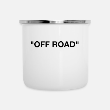 Off OFF ROAD - Tazza smaltata