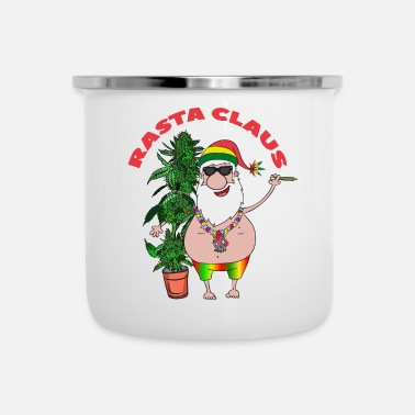 Rasta Rasta Claus - Tazza smaltata