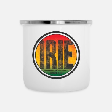 Movement irie - movement of jah - Emaille-Tasse