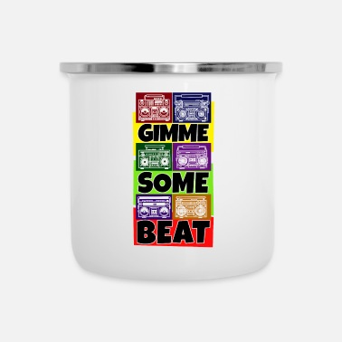 Swag Hip Hop Beat Deutschrap Breakdance DJ Graffiti MC - Enamel Mug