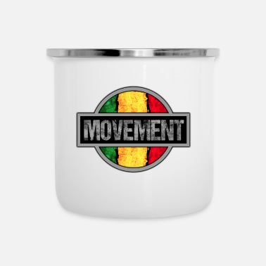Movement Reggae Movement - Enamel Mug