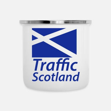 Traffico Traffic Scotland - Tazza smaltata