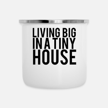 House Tiny House - Emaille-Tasse