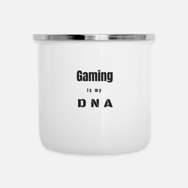Clan Gaming DNA Gamer gokker clan esports nerd cadeau - Emaille mok