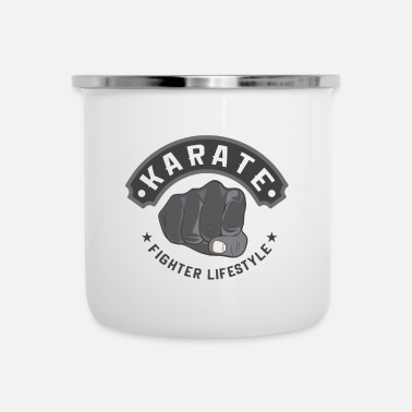 Fighter Karate Fighter Lifestyle - Emaille mok