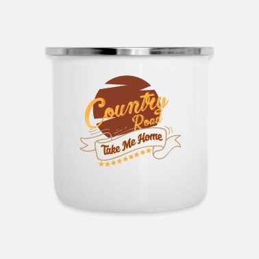 Country Country music country music country music gift - Enamel Mug