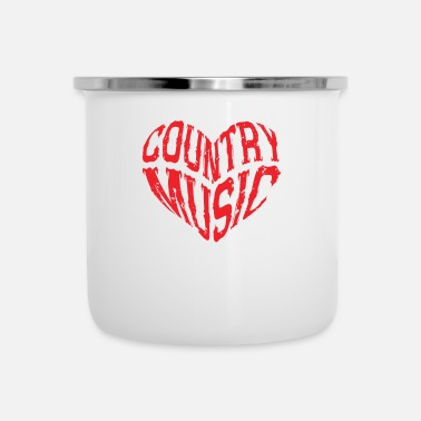 Country Country Music Dancing Musician Gift - Emaille mok