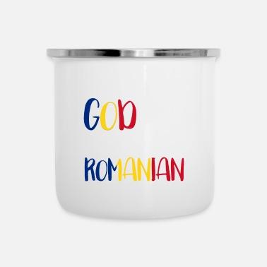 Come Si Dice Buon Natale In Rumeno.Ordina Online Tazza Smaltata Con Tema Rumeno Spreadshirt