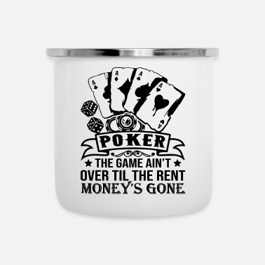 Holdem Poker Money's Gone - Taza esmaltada
