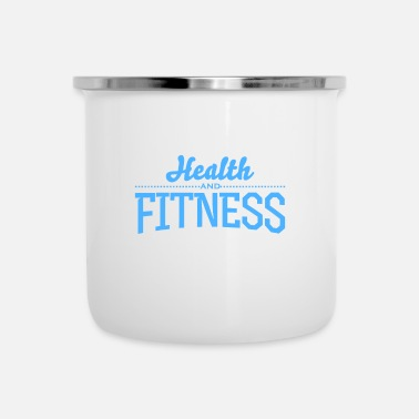 Health Health Fitness - Limited Edition - Emaljmugg