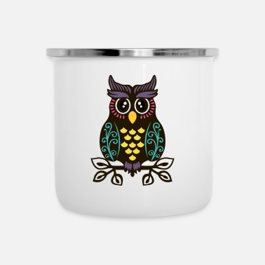 Pretty Pretty Man Owl - Limited Edition - Emaljmugg