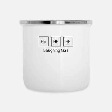 Gas HIJ HIJ LACHT GAS - Emaille mok