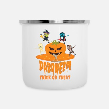 Trick Or Treat Daboween Trick Or Treat - Mug émaillé