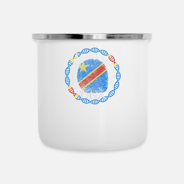 Democrat Democratic Republic Of Congo Its In My DNA - Enamel Mug