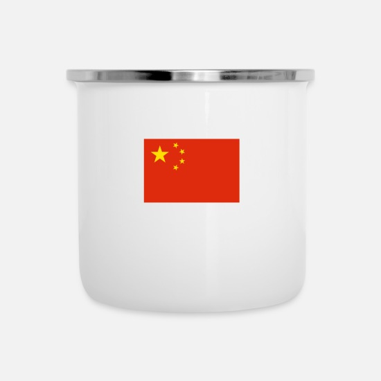 Beijing Mugs & Drinkware - China - Enamel Mug white