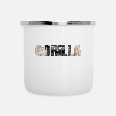 Rainforest GORILLA Edition 3 - Enamel Mug