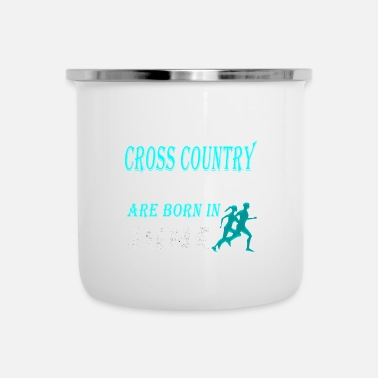 Cross Country Femme Fun Cross Country Legends naissent en juin - Mug émaillé
