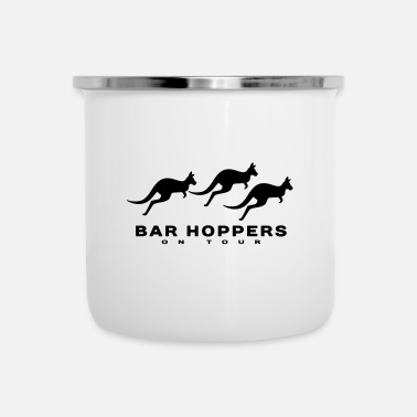 Bar Bar Hoppers op tournee - Emaille mok