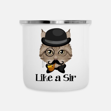Sir Like A Sir Cat / Cat - Emaille mok